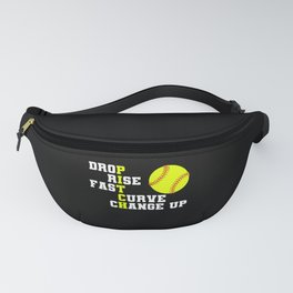 Softball Pitch for Pitcher Fanny Pack