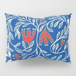 swedish christmas blue Pillow Sham