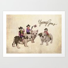Young Guns Art Print