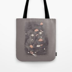 Neighborhood Watch (At Dawn) Tote Bag