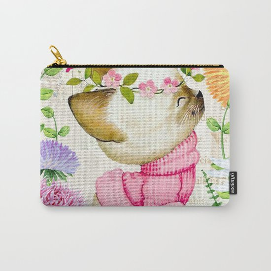 Sweet animal #1 Carry-All Pouch