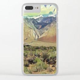 Sierra Nevada II Clear iPhone Case