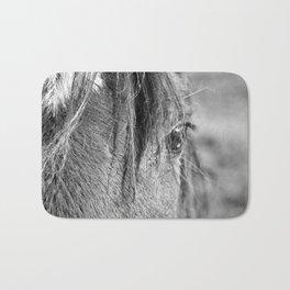 Horse Portrait 2 Bath Mat