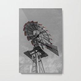 Wind Tips Metal Print