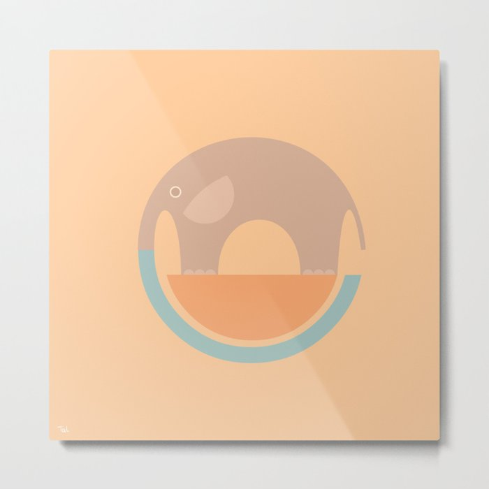 Elephant Circle of Life, Fading Elephants, Nursery Wall Art, Art for ...
