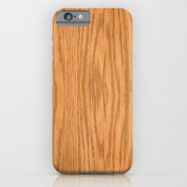 Wood 3 iPhone Case