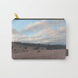 Landscape & Horses III Carry-All Pouch