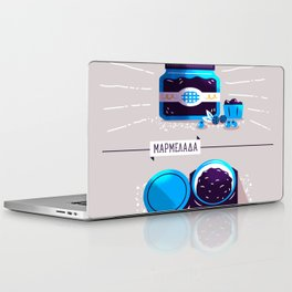 :::Sweet blueberry marmalade::: Laptop & iPad Skin