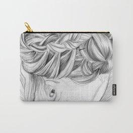 hair bun Carry-All Pouch