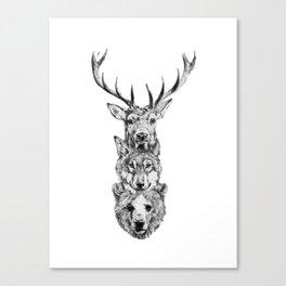 Totem. Canvas Print