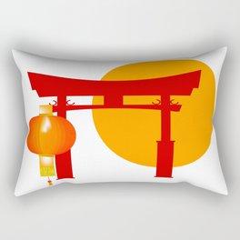 Tori Gate Icon Rectangular Pillow