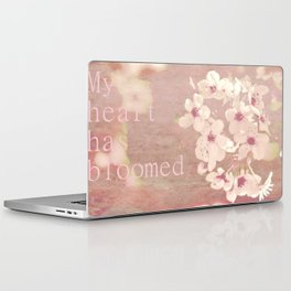 My heart has bloomed Laptop & iPad Skin