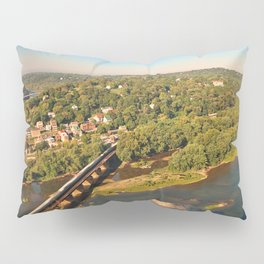 Harpers Ferry & Potomac River Overlook Pillow Sham