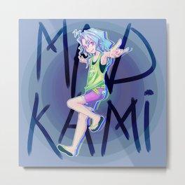 Mad Kami Metal Print