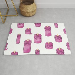 Candle Lit Pattern Rug