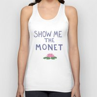 monet Tank Tops featuring Show me the Monet!  by icarusdrunk