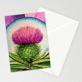 Scottish Thistle Stationery Cards