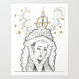 madre Art Print