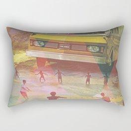 Travel Insurance Rectangular Pillow
