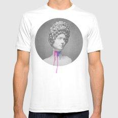 Post-Roman White Mens Fitted Tee MEDIUM
