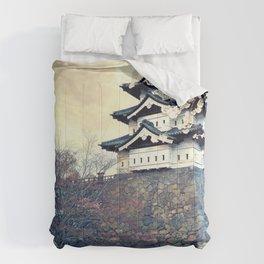 Spectacular Historic Castle East Asia UHD Comforters