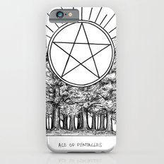 Ace of Pentacles Slim Case iPhone 6