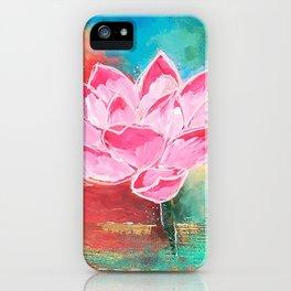 Lotus Lover iPhone Case