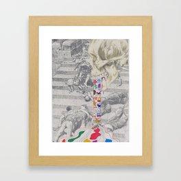 Stercoraceous Emesis Framed Art Print