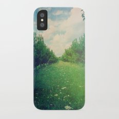 Apple Orchard in Spring iPhone X Slim Case
