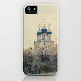 Church in Winter Estate iPhone Case