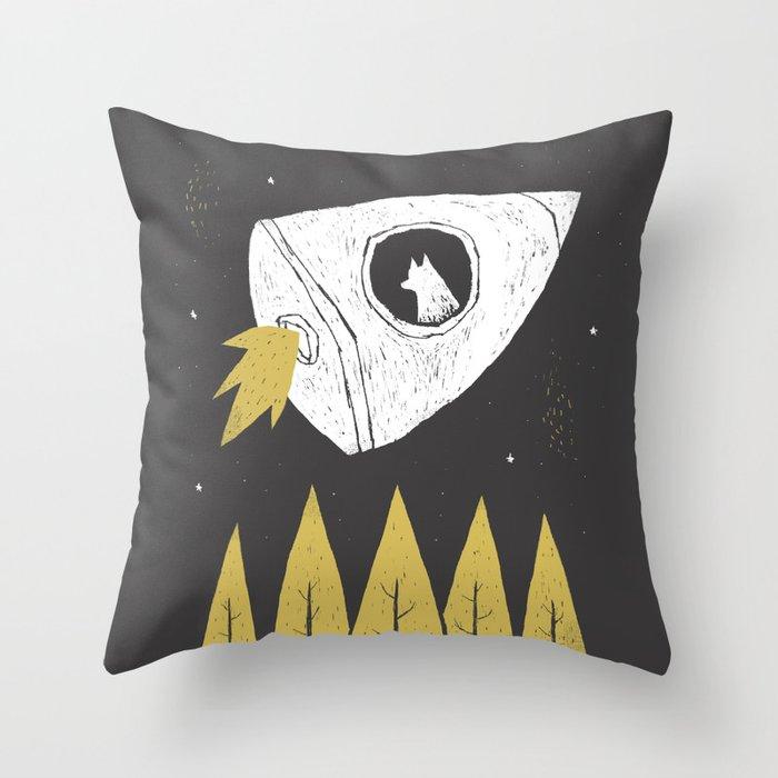 laika. Throw Pillow