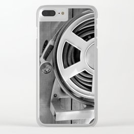 Hose Black and White Clear iPhone Case
