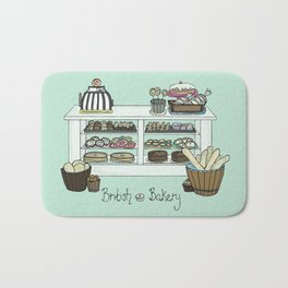 British Bakery Bath Mat