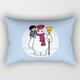 Inflatable Snowman Rectangular Pillow