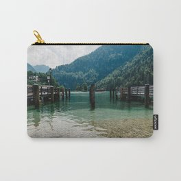 Pier in Konigssee lake Carry-All Pouch