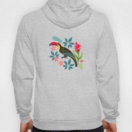 Floral Toucan Hoody