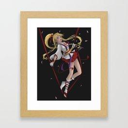 Kaito Jeanne Framed Art Print