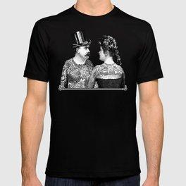 Tattooed Victorian Lovers T-shirt
