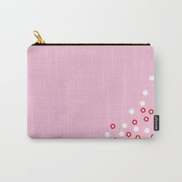 Pink Kimono Carry-All Pouch