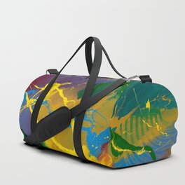 Uprising - Abstract painting Duffle Bag