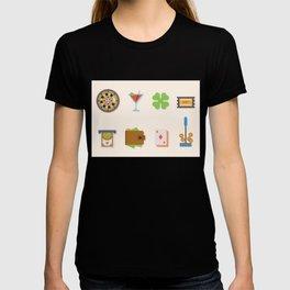 Partying, Poker & Money - Nevada Day T-shirt