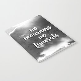 Six of Crows - No Mourners, No Funerals Notebook