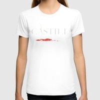 castiel T-shirts featuring Castiel by Manny Peters Art & Design