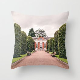 The Orangery | London City Architecture Photography in Kensington Gardens Throw Pillow