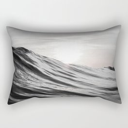 Motion of Water Rectangular Pillow