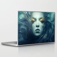 grand theft auto Laptop & iPad Skins featuring Ink by Anna Dittmann