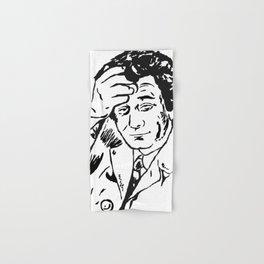 Lieutenant Columbo Portrait Hand & Bath Towel