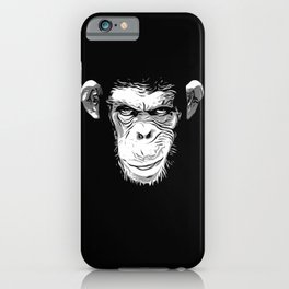 Evil Monkey iPhone Case