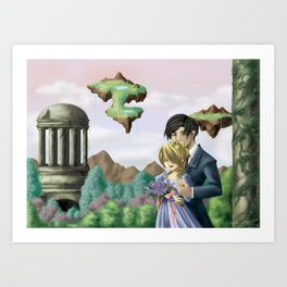 Love's Deception Art Print