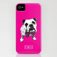 Pink Bowser iPhone (4, 4s) Slim Case